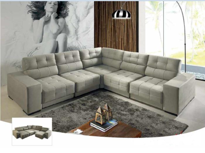 Modelos de sof para sala de estar Modelos de sofas para salas